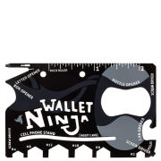 Wallet Ninja 18-in-1 Multi-Tool Including Bottle Opener, Wrench and Screwdriver