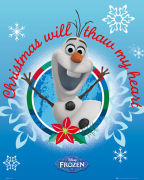 Frozen Olaf Christmas - Mini Poster - 40 x 50cm