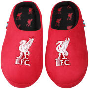Bafiz Boys' LFC Defender Mules - Red/Black