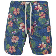 Jack & Jones Originals Men's Floral Swim Shorts - Bright Cobalt