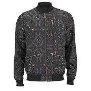 J.Lindeberg Men's Thom Rev Wool Jacket - Black