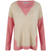 Great Plains Women's Jessie Slouch Knit Top - Cupcake/Buttermilk
