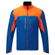 RonHill Men's Advance Windlite Running Jacket - Electric Blue/Fluo Orange