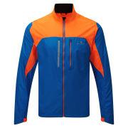 RonHill Men's Advance Windlite Running Jacket - Electric Blue/Fluo Orange
