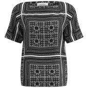 Samsoe & Samsoe Women's Lilian Short Sleeved T-Shirt - Kerchief Print