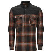 Jack & Jones Men's William Shirt with Contrast Collar - Black Navy