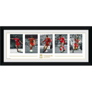 """Liverpool Legends - 30"""""""" x 12"""""""" Framed Photographic"""