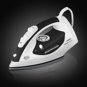 Swan 2400W Ceramic Sole Plate Iron - Black