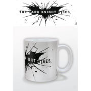 DC Comics Batman Dark Knight Rises Logo Mug