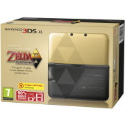 Nintendo 3DS XL Console: Bundle - Limited Edition (Includes The Legend of Zelda: A Link Between Worlds)  - Grade A Refurb