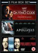 Apollo 13/Philidelphia/The Da Vinci Code