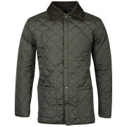 Soul Star Men's Quilt Jacket - Khaki