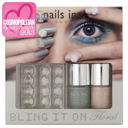 nails inc. Bling It On Floral Collection