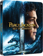 Percy Jackson: Sea of Monsters - Limited Edition Steelbook (Includes 3D Blu-Ray, 2D Blu-Ray and UltraViolet Copy)