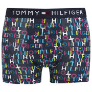 Tommy Hilfiger Men's Kieron Print Trunks - Peacoat