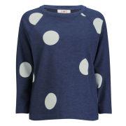 YMC Women's Spot Sweatshirt - Indigo