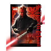 Star Wars Darth Maul - Lenticular Poster - 47 x 67cm