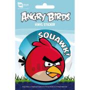 Angry Birds Bird - Vinyl Sticker - 10 x 15cm