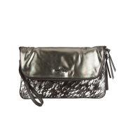 Urbancode Wanderlust Leather Clutch Bag - Glitter Suede