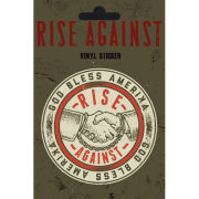 Rise Against Shaking Hands - Vinyl Sticker - 10 x 15cm