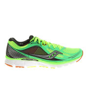 Saucony Men's Kinvara 5 Neutral Running Shoes (Medium Width) - Slime/Orange/Citron