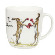 Country Pursuits The Boxers Olive Mug (300ml) - Multi