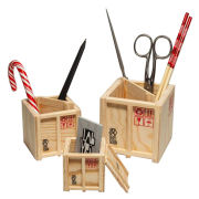 InBox Desk Crates - Set of 3