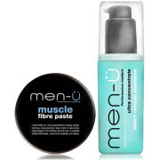 men-ü Refresh Shampoo and Style Muscle Fibre Paste Set