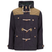 Brave Soul Men's Portugal Jacket - Navy/Tobacco