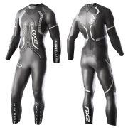 2XU Men's V-3 Velocity Wetsuit - Black/Silver
