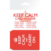 Keep Calm And Carry On - Card Holder