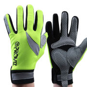 Proviz Waterproof Cycling Reflective Gloves - Yellow