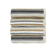 Christy Modena Stripe Towel - Neutral