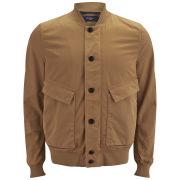 Paul Smith Jeans Men's Bomber Jacket - Tan