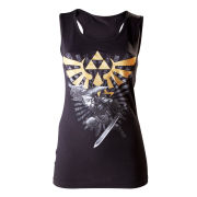 The Legend Of Zelda - Tank Top (Black)