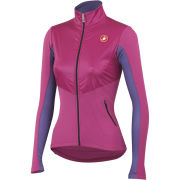 Castelli Women's Illumina Long Sleeve Full Zip Jersey - Magenta