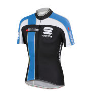 Sportful Gruppetto Pro Team Short Sleeve Jersey - Black/White/Blue