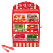 50Fifty My Pick N Mix Sweet Stand - 6 Tubs - Multi