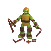 Teenage Mutant Ninja Turtles Action Figure - Battle Shell Michelangelo