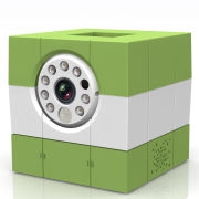 Amaryllo iCAM HD Skype Wireless Remote IP Camera - Green/White