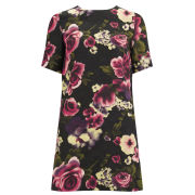 Girls On Film Women's Textured Rose Dress - Pink