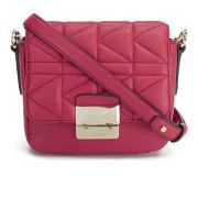 Karl Lagerfeld K/Kuilted Cross Body Bag - Raspberry