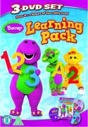 Barney: Learning Pack (It's Time for Counting / Let's Play School / Read with Me, Dance with Me)