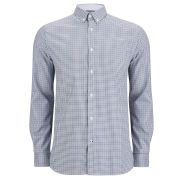 Jack & Jones Premium Men's Louis Checked Shirt  - Blue