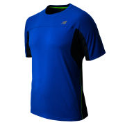 New Balance Men's Running Impact T-Shirt - Laser Blue