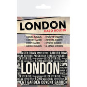 London Areas - Card Holder