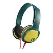 Philips SHO3300 O'Neill Cruz Headband Headphones - Green/Yellow