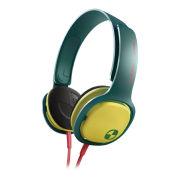 Philips SHO3300 O'Neill Cruz Headband Headphones - Green/Yellow