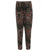 Damned Delux Women's Slouch Joggers - Aztec