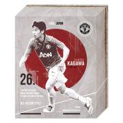 Manchester United Kagawa Retro - 50 x 40cm Canvas